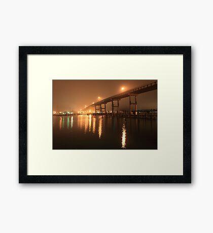 Matanzas Pass Bridge Framed Print