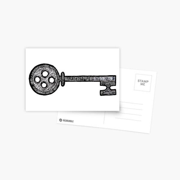Coraline Key Postcard