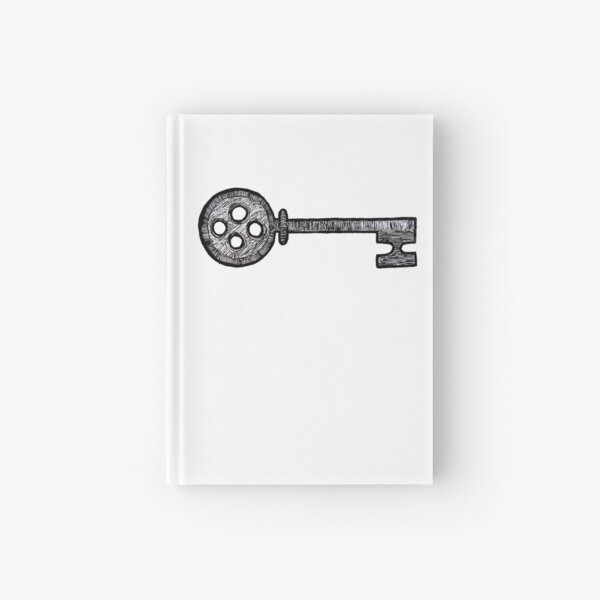 Coraline Key Hardcover Journal