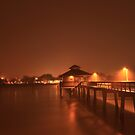 Ft. Myers beach pier by kathy s gillentine