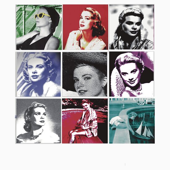TShirtGifter presents: Grace Kelly Collage