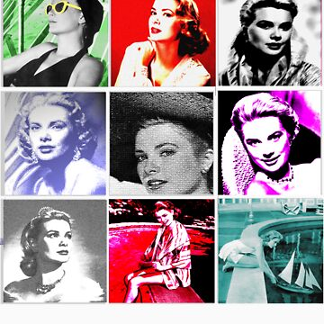Grace Kelly Collage by foreverfamous