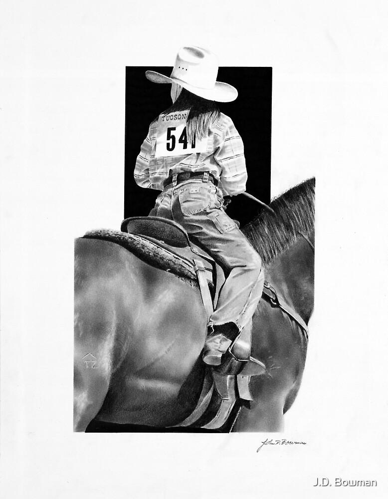 Rodeo Girl Jr. Rider by J.D. Bowman