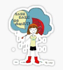 rain rain.. Sticker