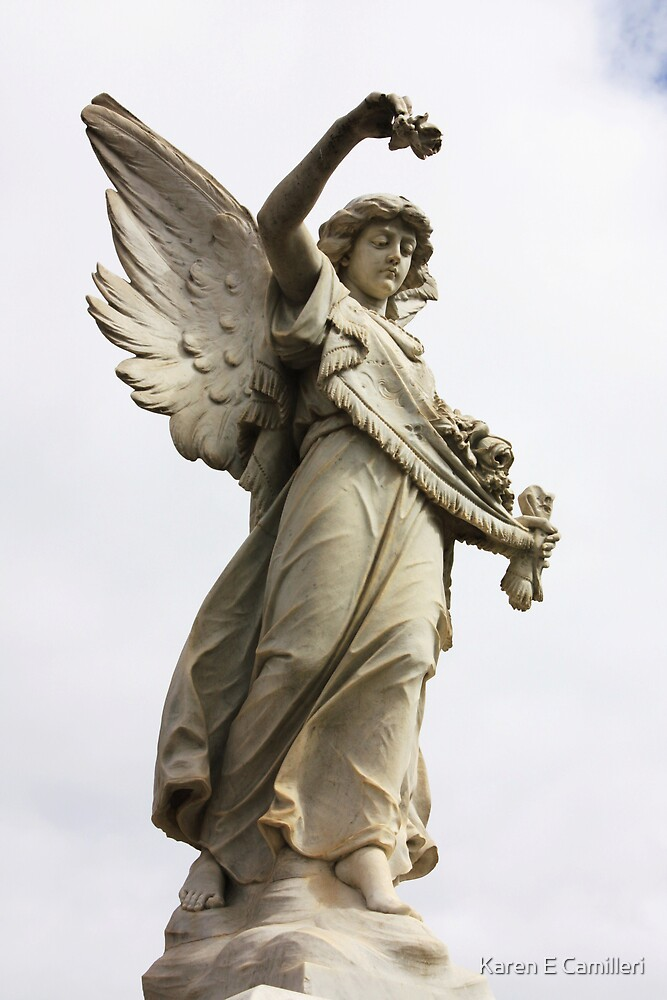 herald angel by Karen E Camilleri
