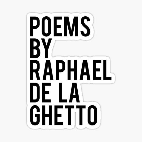 Raphael De La Ghetto  Sticker