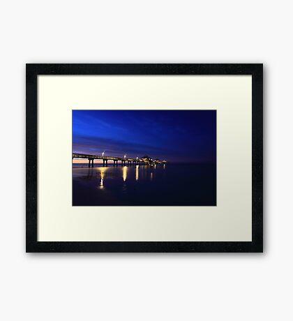FMB Pier Framed Print