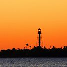 Sanibel Island Light by kathy s gillentine