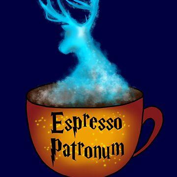 Espresso Patronum by Stickers-By-Sam