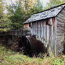 Grist Mill  by kathy s gillentine