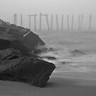 Foggy Morning at the Broken Pier by shawng13