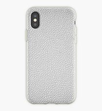 Silver Leather iPhone wallet Case iPhone Case