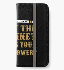 I Play Clarinet. What's Your Superpower iPhone Wallet/Case/Skin