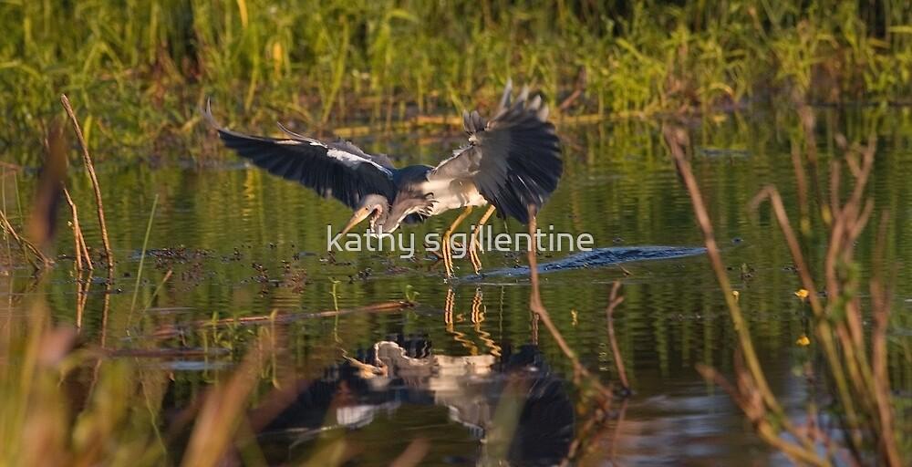 Jump.... by kathy s gillentine