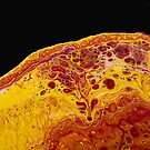 Fluid Acrylic Painting -  Lava by Ilze Lucero