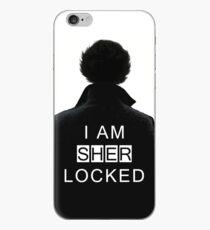 I am sher locked iPhone Case