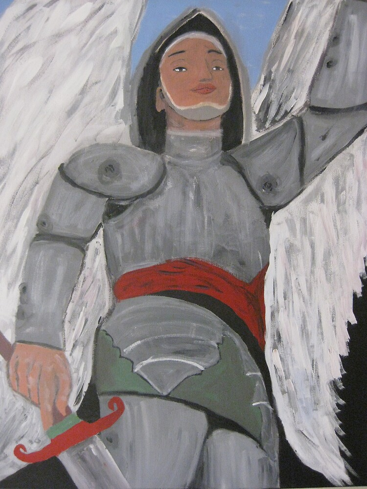 El Angel Vengador by MexicanArtist