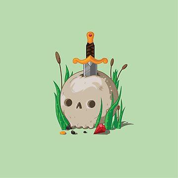Tesoro del cráneo de Gigabyte