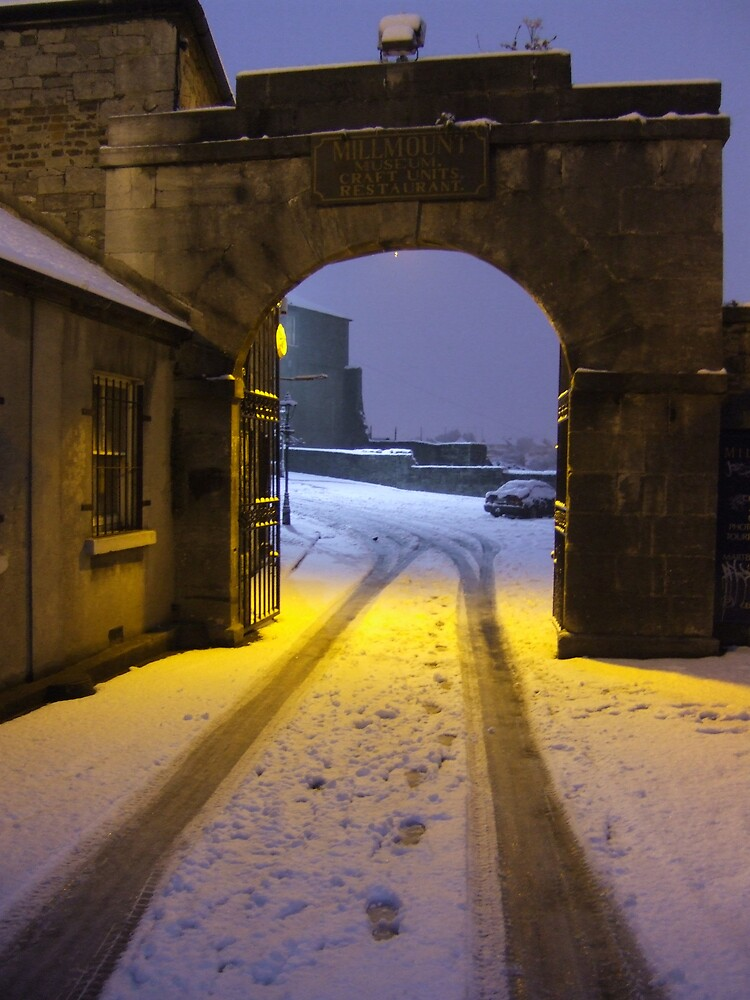 Millmount At Dawn In The Snow by Munich