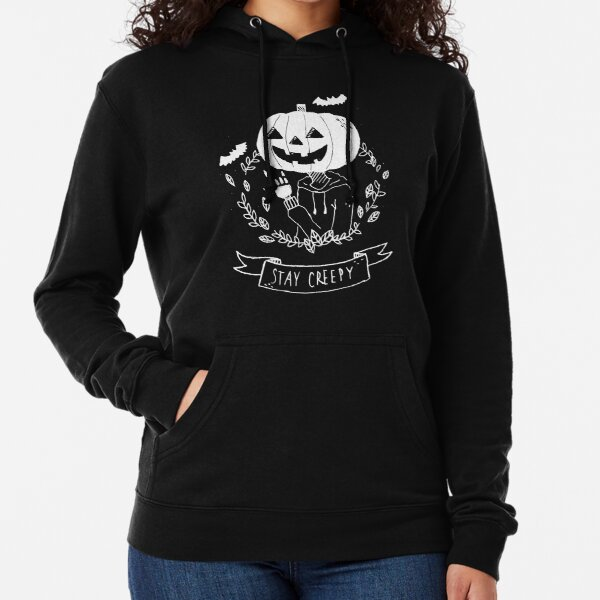 Stay Creepy! Lightweight Hoodie