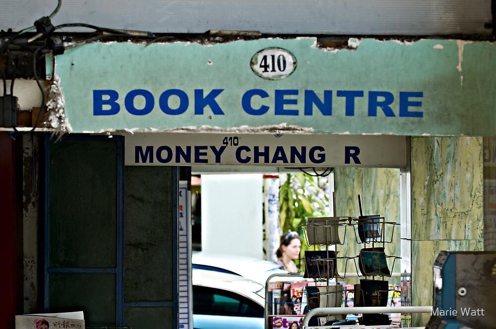 Book Centre by Marie Watt