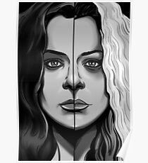 ORPHAN BLACK - Sarah Vs Helena Poster