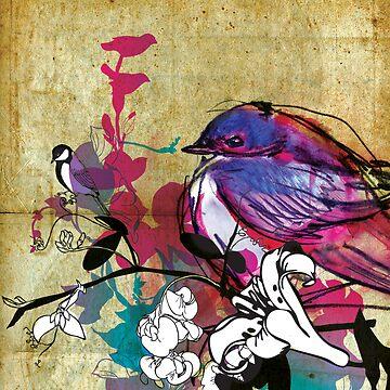 full bluebird by Narelle