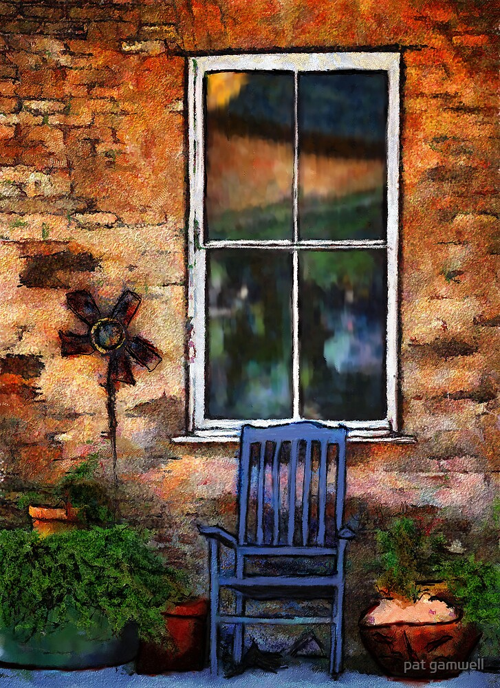 Sit A Spell by pat gamwell