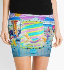 Abandoned Carousel Mini Skirt