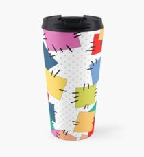 Multi-colored flaps Travel Mug
