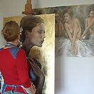 me working by dorina costras