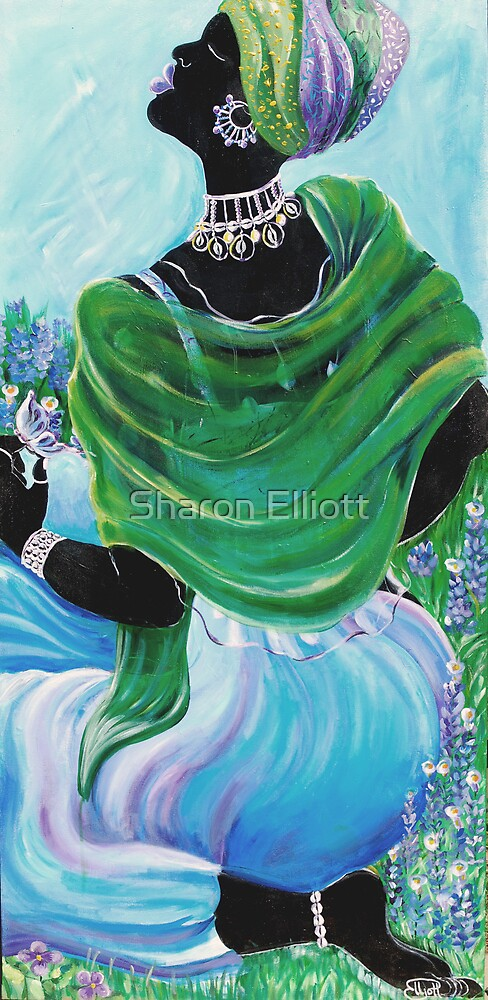 Blue Mood by Sharon Elliott