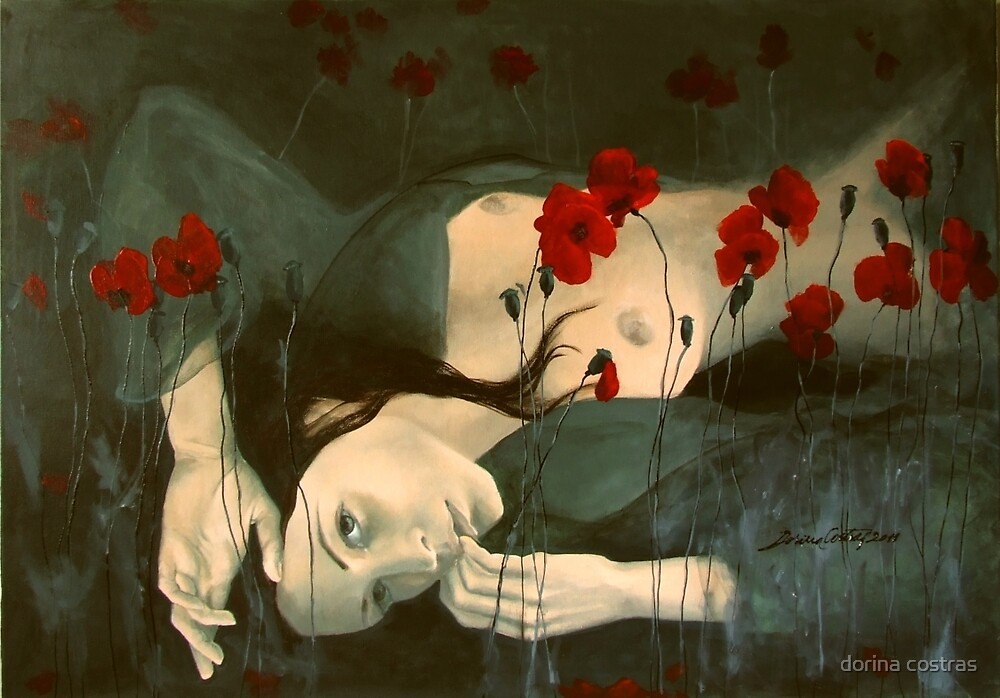 Reverie - After sunset by dorina costras