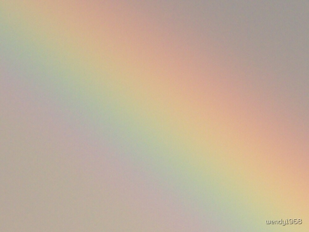 Fading Rainbow by wendy1968