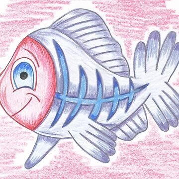 XAVIER THE X-RAY TETRA by sonya1968