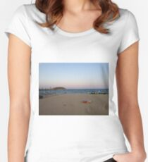 Magaluf Women's Fitted Scoop T-Shirt