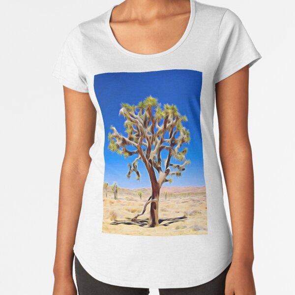 Joshua Tree light Premium Scoop T-Shirt