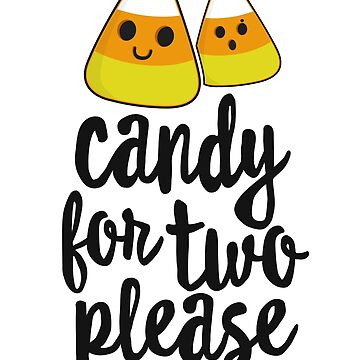 Candy For Two Halloween T-Shirt Pregnancy Announcement by 14thFloor