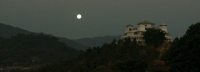 Full moon Gompa  by nharyan