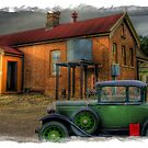 A Model Ford at Stuart Town Railway Station by pedroski