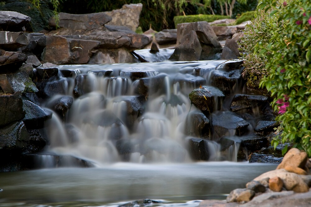 Small waterfall by faulsey