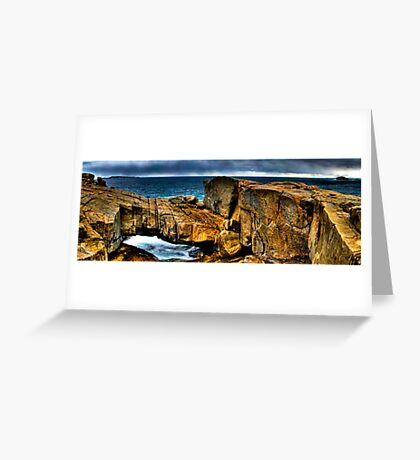 Natural Bridge Greeting Card
