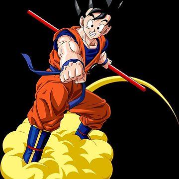Goku Flying On Nimbus (DBZ) by JakeHutson