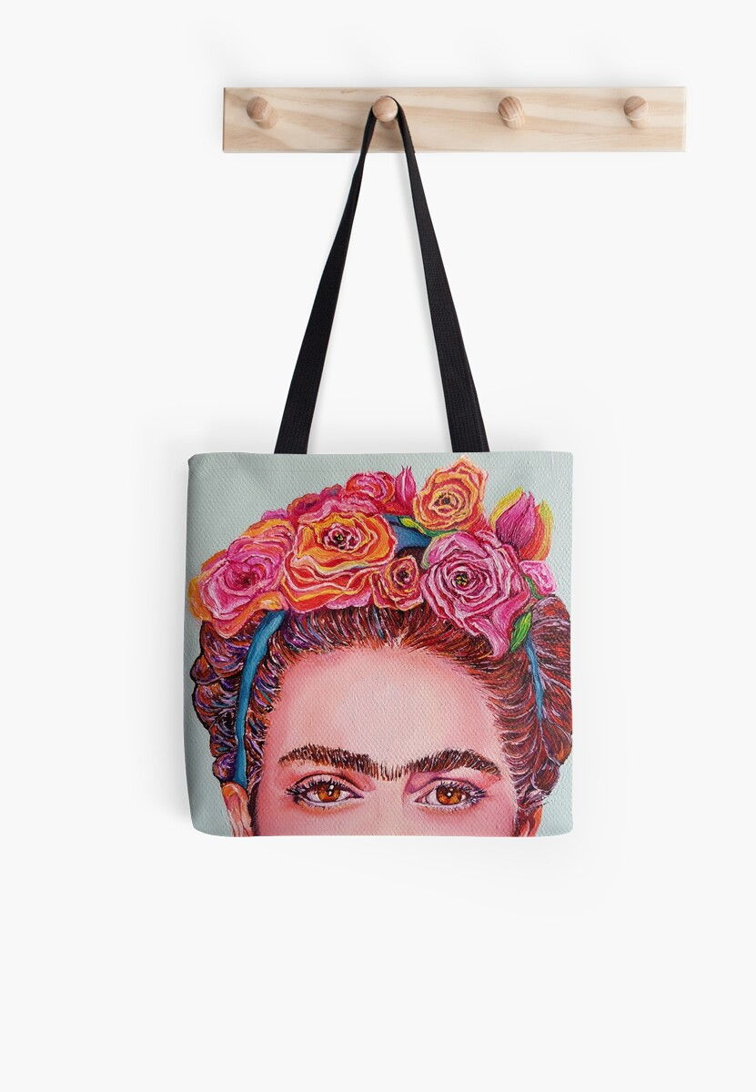 "Frida Kahlo ""I see you"" by ArtbyCPolidano"