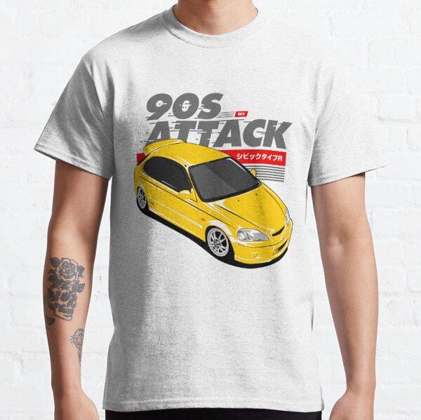 CIVIC EK9 Attaque des années 90 T-shirt classique