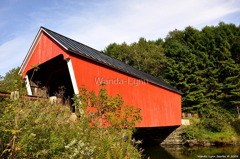 Covered Bridge  by Wanda-Lynn