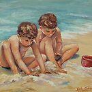 Fun at the beach by Norah Jones