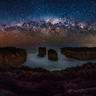 Loch Ard Gorge Milky Way by hangingpixels