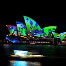 Vivid Festival 2018- Opera House Water Drops by muz2142