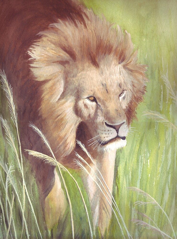 Prowling Energy by Maureen Sparling
